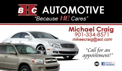 Business Card - Automotive
