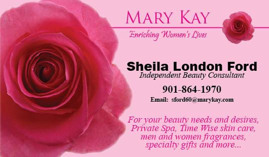 Mary kay dixons printing business card mary kay colourmoves
